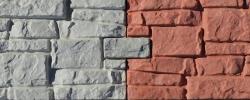 Фасадная плитка «Старая крепость» с накладками